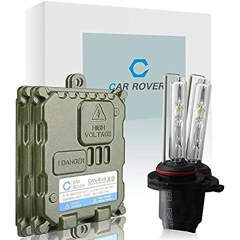 Car Rover® 9006/HB4 Canbus Kit Xenon HID Senza Errori Decodifica Ballast 55W Lampadina del Faro 6000K