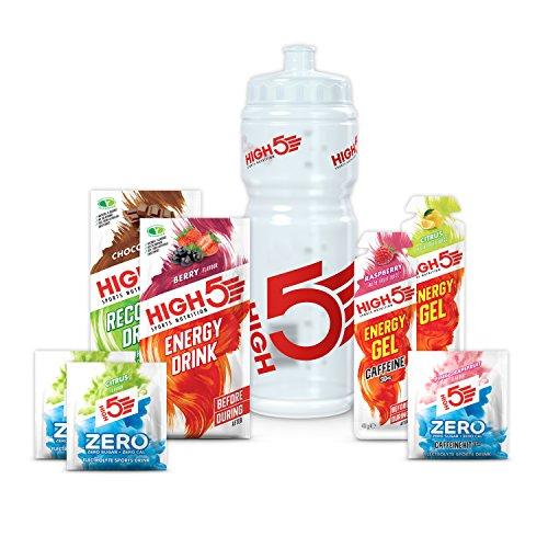High5 High5 Pack De Suplementos Nutricionales - Kit De Iniciación - Pack Degustación Con Los Productos De Recuperación De Energía E Hidratación Deportiva Más Vendidos 300 g