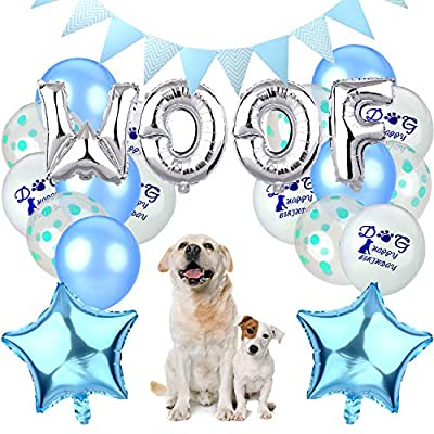Legendog Dog Birthday Decorations, Dog Birthday Party Supplies - Dog Party Decorations for Dog by Legendog