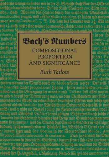 Bach's Numbers - 9781107459694 por Ruth Tatlow