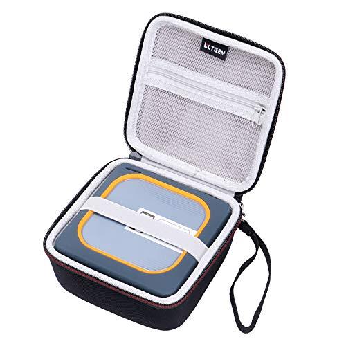 LTGEM EVA Custodia Rigida per WD My Passport wireless SSD esterno portatile drive compatible con WD 1TB 2TB 250G 500G
