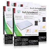 Caso Profi- Folienbeutel 16x23cm/50 Beutel für Vakuumierer Caso (5er Pack)