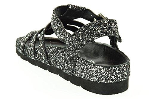 LAAB donna sandalo allacciato PELEL2081WGA902 Argento