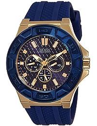 Guess Herren-Armbanduhr Chronograph Quarz Silikon W0674G2