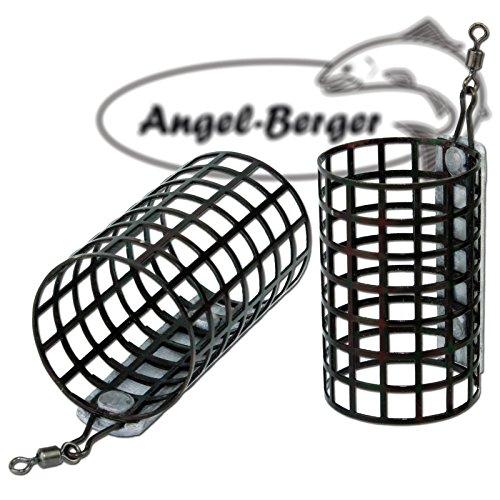 Angel Berger Futterkorb Feederkorb verschiedene Größen zur Auswahl (80g)