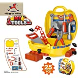 Vibgyor Vibes™ Ready Your own Bring Along Pretend Play Tool Set/Kit in a Ready to Go Suitcase