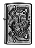 Zippo 2.005.032 Feuerzeug Steam Punk Heart Collection Spring 2016, Satin Finish