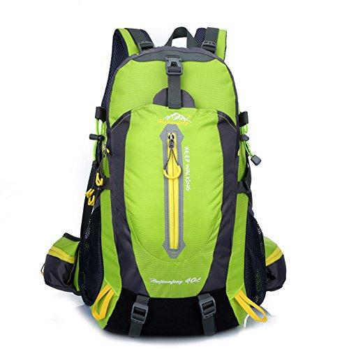 Imagen de macutos de senderismo  y bolsas senderismo , camping  / viaje  / trekking  / casual  para el deporte al aire libre senderismo trekking camping escalada montaña 40l green, 40l  alternativa