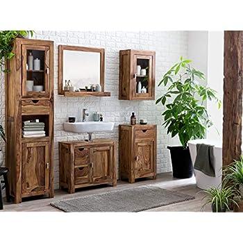 Woodkings® Bad Set Leeston Echtholz Palisander Sheesham
