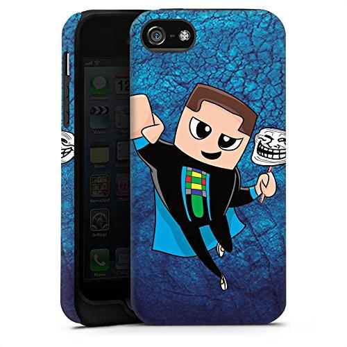 Apple iPhone X Silikon Hülle Case Schutzhülle GommeHD Fanartikel Merchandise Youtuber Tough Case matt