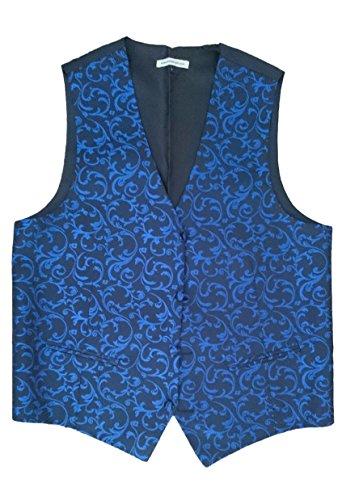 Tiesnstuff - Gilet - Homme multicolore Multicoloured Taille Unique Blue Patterned