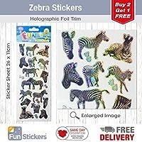 Fun Stickers Zebra 941