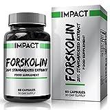 Forskolina 250mg - Forskolin Active - Extracto Natural de Coleus forskohlii - Estandarizado al 20% - Apto Para Vegetarianos - Para Hombres y Mujeres - 60 Cápsulas (Suministro para 1 mes) de Earths Design