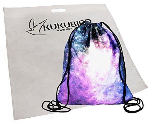 Kukubird Verschiedene Print Einfach Rucksack Mit Kukubird Staubbeutel Aztec