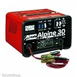 TelwinTrade Telwin Ladegerät Boost 400AH 12–24V Stromversorgung 230V MOD. Alpine 30