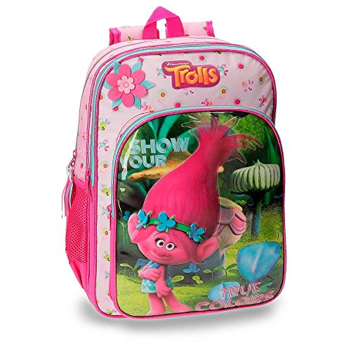 Imagen de trolls 2752451 true colors  escolar, 40 cm, 19.2 litros, multicolor