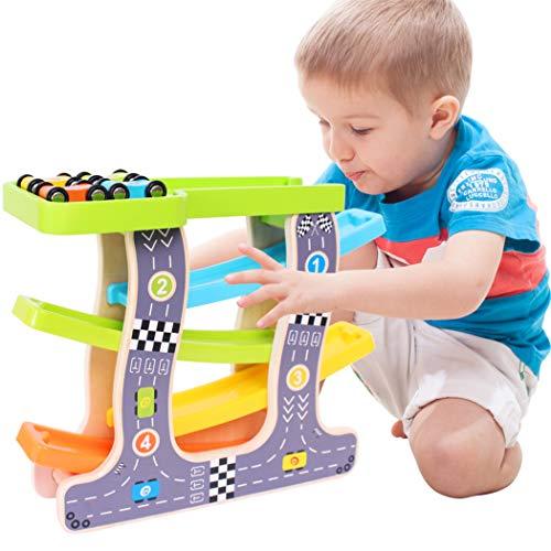 reative Kunststoff Pädagogisches Lernen Track Auto Kleinkind Spielzeug ()