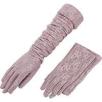 Bekleidung Zubehör Sonnencreme Halbe Finger Eis Seide Langen Abschnitt Neue Frauen Handschuhe Manschetten Fliege Damen-accessoires