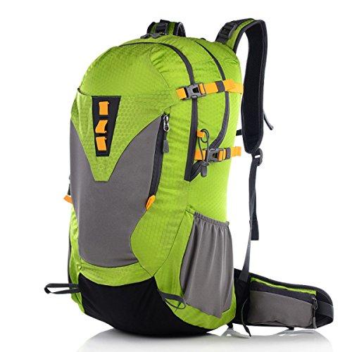 Outdoor Professionelle Bergsteigertasche Ultra - Light Wear - Resistant Outdoor Sportpaket,Blue2 Green1