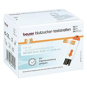 Beurer Gl44/gl50 Blutzuck 100 stk