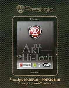 Prestigio PMP3084B Tablet (21.3cm (8.4 Zoll) 800x600pixel, Multipad, Android OS 2.1, USB, WiFi) schwarz