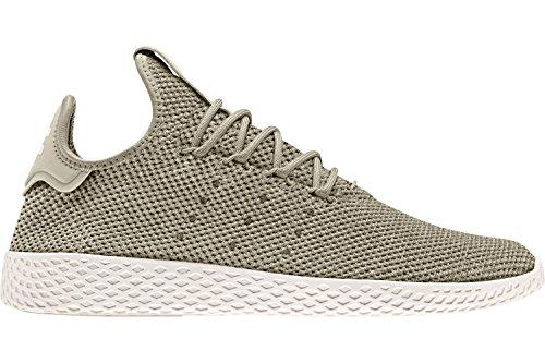 adidas Pharrell Williams Tennis hu Herren Sneaker Grün Beige