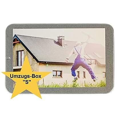 Servicegift Umzug Geschenk Box (S) Für Neue Wohnung, Einzug, Einweihung,