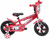 Disney Cars - Bicicleta de Rayo McQueen con ruedines