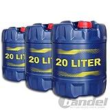 3X MANNOL MN7909-20 Diesel TDI 5W-30 Motoröl API SN/CF 20L