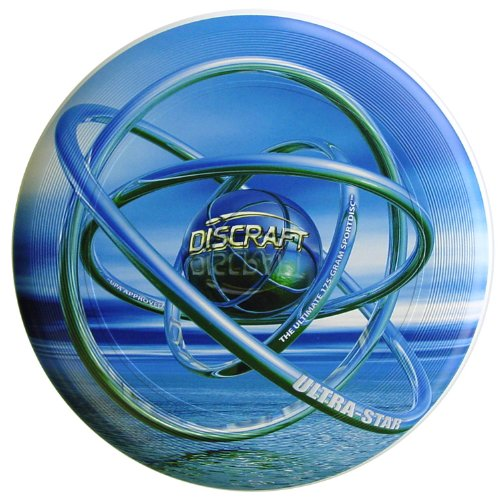 Discraft Frisbee Ultimate Ultra-Star 175g SUPERCOLOR ORB