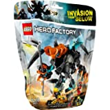 Lego Hero Factory - 44021 - Jeu De Construction - Splitter Beast Vs Furno Et Evo