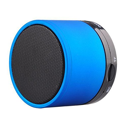 SPAM Speaker with feature of Feet Taping Music sound   Super Sound   Deep Bass   Innovative Design   Newest Design   new edge technology   Rechargeable Battery Bluetooth Speaker LED Wireless Bluetooth Speaker handsfree Calling Feature FM Radio & SD Card Slot , S10 GREEN Compatible with AOC D70V50G  available at amazon for Rs.549