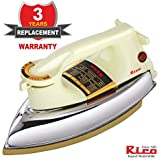 Rico Super Heavy Weight Automatic Dry Iron- 3 yrs Replacement warranty – Japanese Technology - 1000 watts