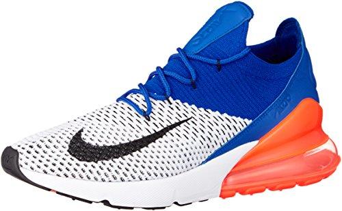 Nike Herren Sneakers Air Max 270 Flyknit blau (51) 43