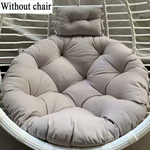 ZHANG Weich Hängendes Ei Stuhlkissen,ohne Stand Multicolor Verdicken Sie Abnehmbar Swing Sitzkissen Für Wicker Swing Chair-f 100x100cm(39x39inch) -