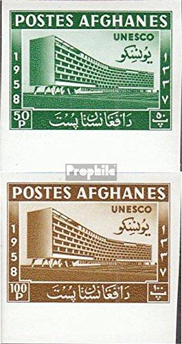 Prophila Collection Afghanistan 475B-476B (kompl.Ausg.) 1958 UNESCO-Gebäude (Briefmarken für Sammler) -