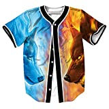 Best Tees béisbol - Unisex 3D Impreso Verano Casual Camiseta de Manga Review