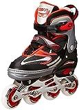 Cosco Sprint Roller Skate (Red) - Medium