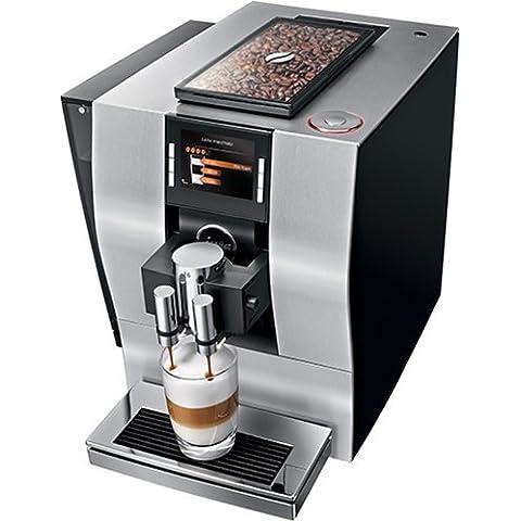Jura Z6 Espresso machine 2.4L Negro - Cafetera (Independiente, Espresso machine, De café molido, Negro, TFT)
