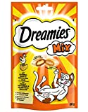 Dreamies Katzensnacks Mix mit Huhn und Käse, 6 Packungen (6 x 60 g)