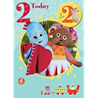 In The Night Garden Age 2 Badged Birthday Greeting Card