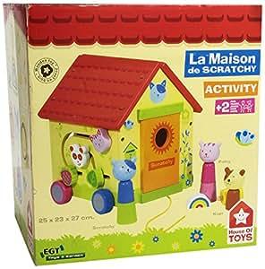House of Toys - 450347 - Jouet en Bois - Eveil - La Maison De Scratchy