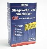 Pufas Glasgewebe- und Vlieskleber GK 500g