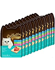Bellotta Wet Food for Cats and Kittens, Tuna, 85 g Pouch (Pack of 12)
