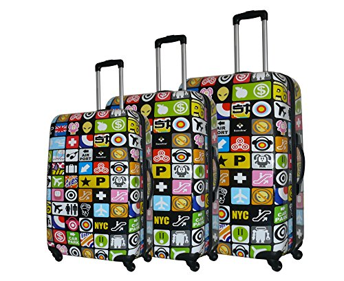 maleta Saxoline icónico juego de 3, multi
