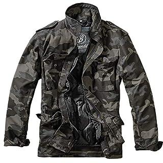 Brandit Herren M-65 Feldjacke Classic Jacke, Mehrfarbig (Darkcamo 4), Large