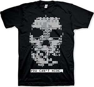 watch_dogs GE1665M - WATCH DOGS Dedsec Skull Medium T-Shirt, Black (GE1665M)