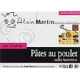 ALAIN MARTIN Pâtes au Poulet Sauce Forestière - Lot de 3