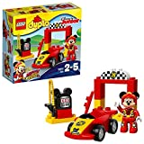 Lego DUPLO Disney - La voiture de course de Mickey - 10843 - Jeu de Construction