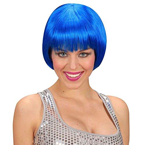 Perücke Rave Blau (Kostüm Rave Ideen)